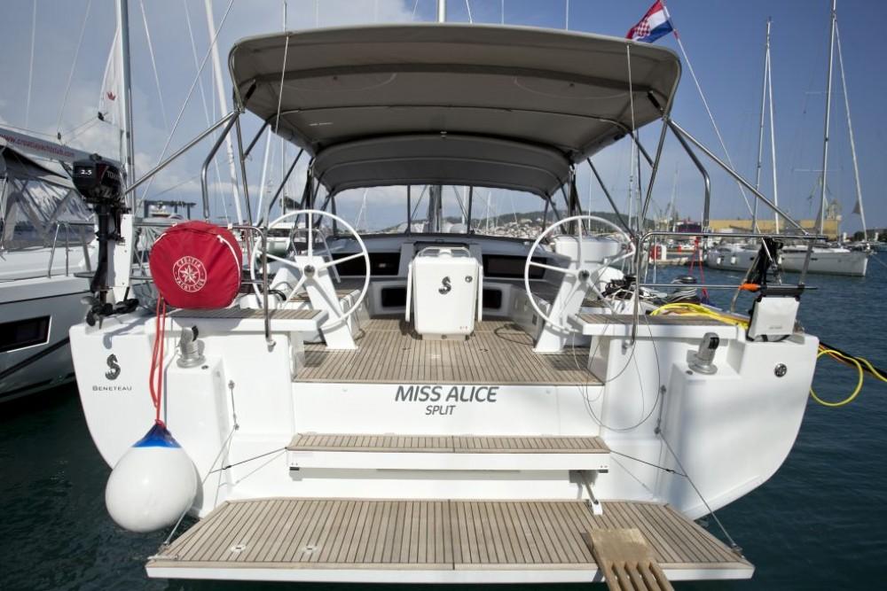 Boat rental Trogir cheap Oceanis 51.1