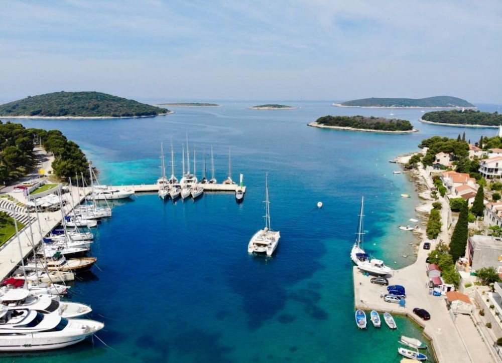 Fountaine Pajot Saba 50 between personal and professional Trogir