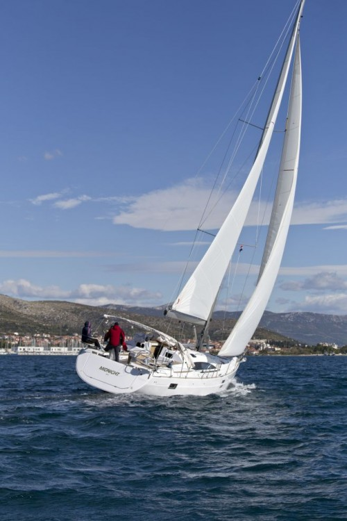 Boat rental Trogir cheap Elan 45 impression