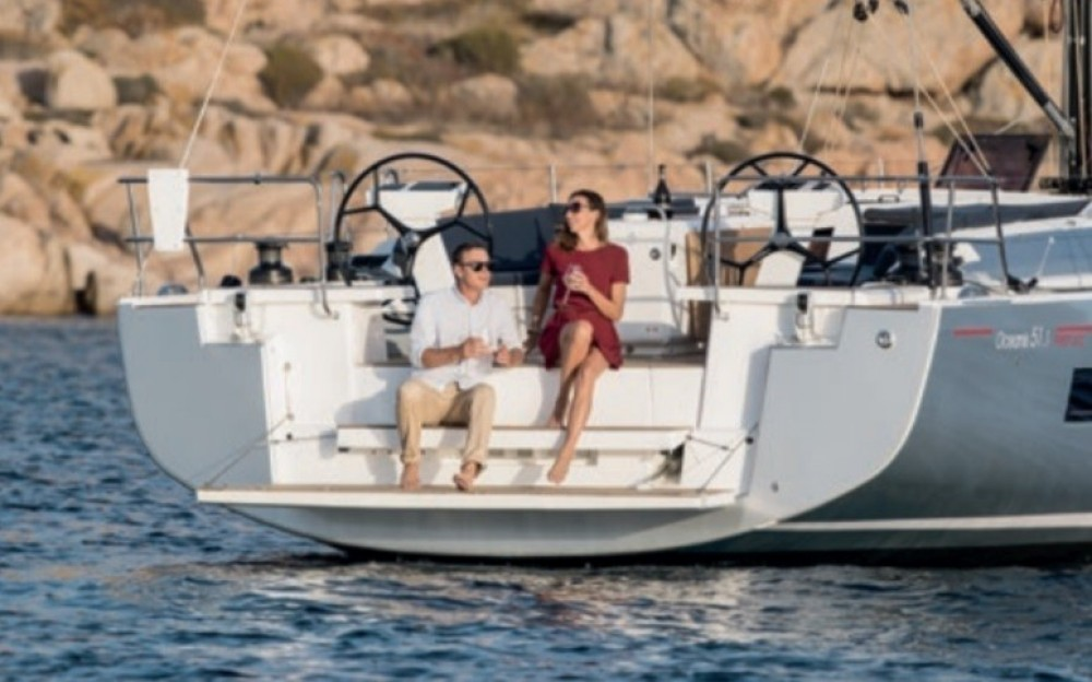 Boat rental Peloponnese, Western Greece and the Ionian cheap Oceanis 51.1