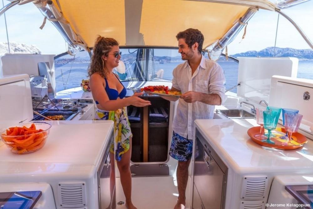 Jeanneau Sun Loft 47 between personal and professional Corfu