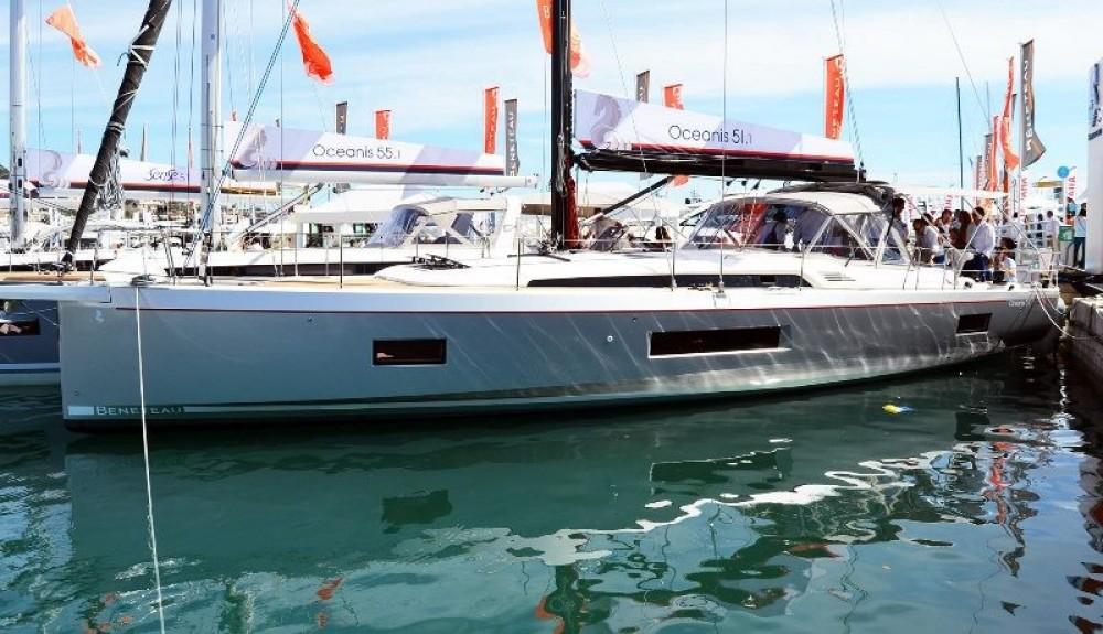 Boat rental Laurium cheap Oceanis 51.1