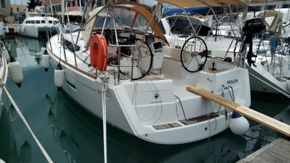 Jeanneau Sun Odyssey 389 between personal and professional Peloponnese, Western Greece and the Ionian
