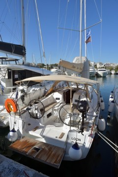 Jeanneau Sun Odyssey 349 between personal and professional Kos