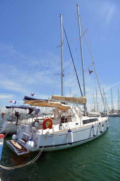 Rental Sailboat in  - Bénéteau Oceanis 38