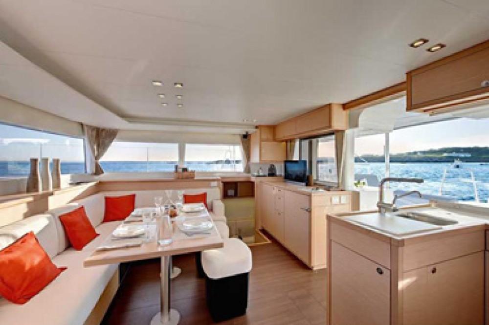 Boat rental Athens cheap Lagoon 450