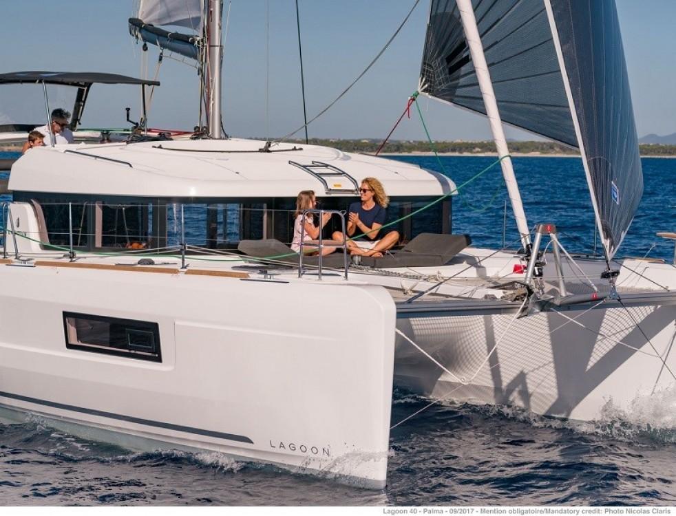 Rental yacht Corfu - Lagoon Lagoon 40 on SamBoat