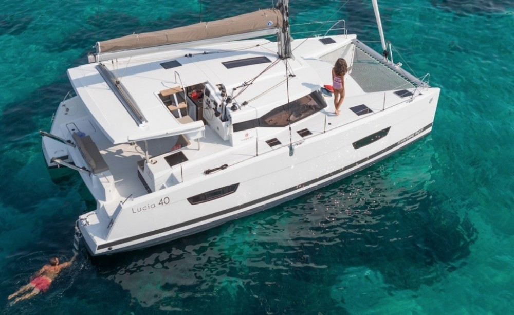 Hire Catamaran with or without skipper Fountaine Pajot Corfu