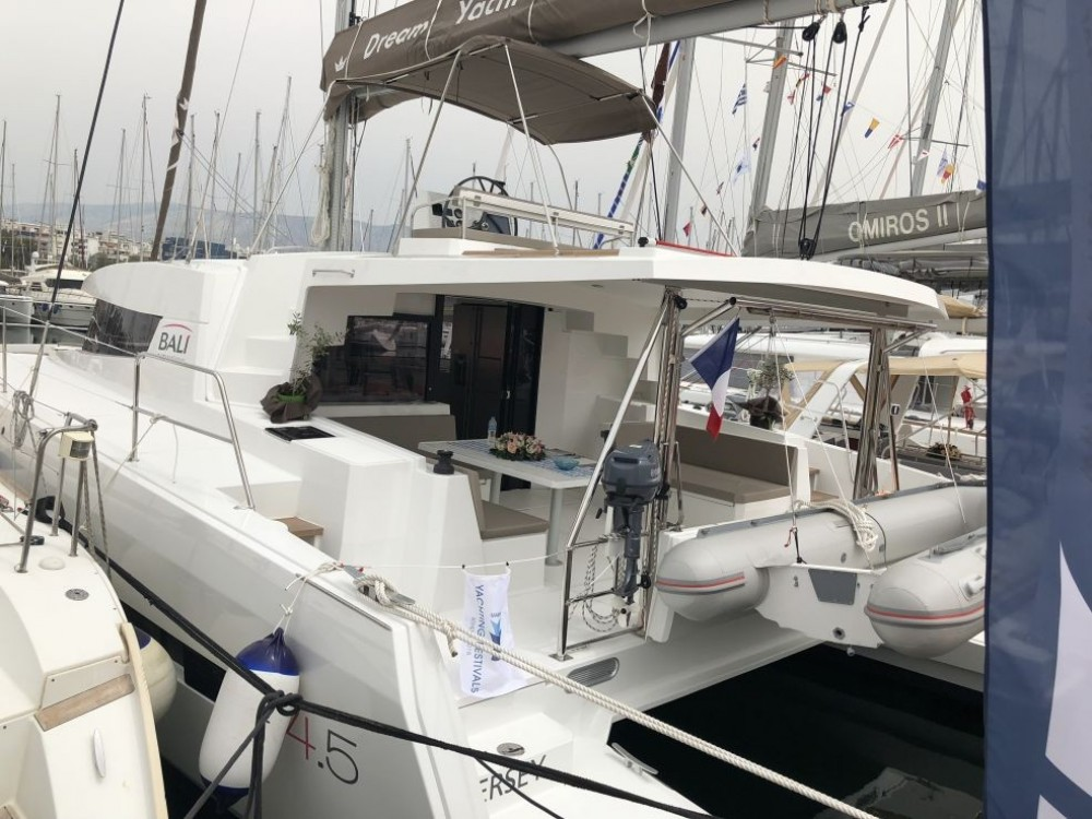 Catana Bali 4.5 between personal and professional Laurium