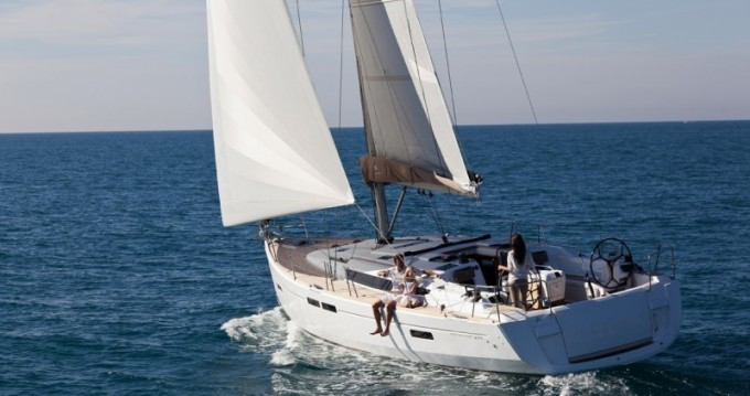 Jeanneau Sun Odyssey 479 between personal and professional Corfu