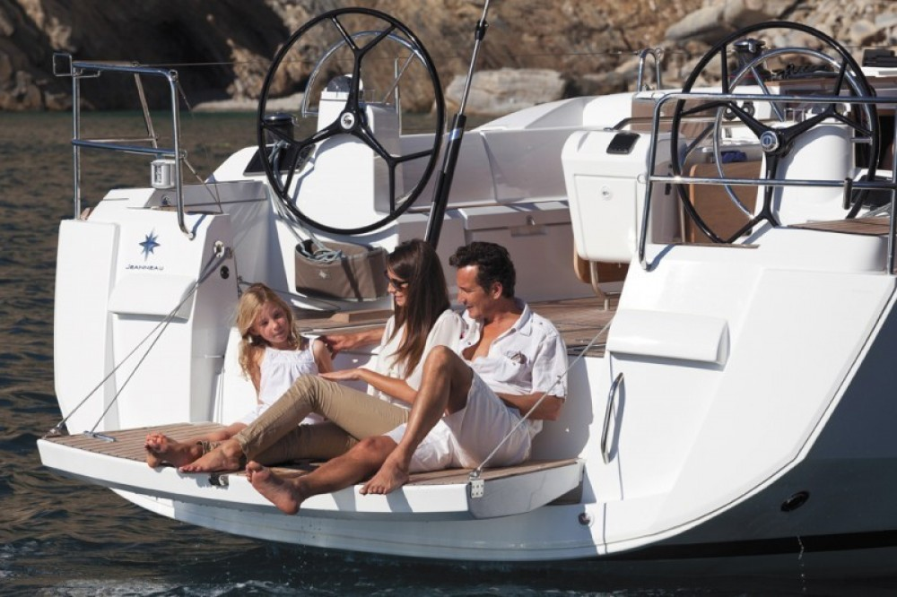 Jeanneau Sun Odyssey 479 between personal and professional Kalafationes
