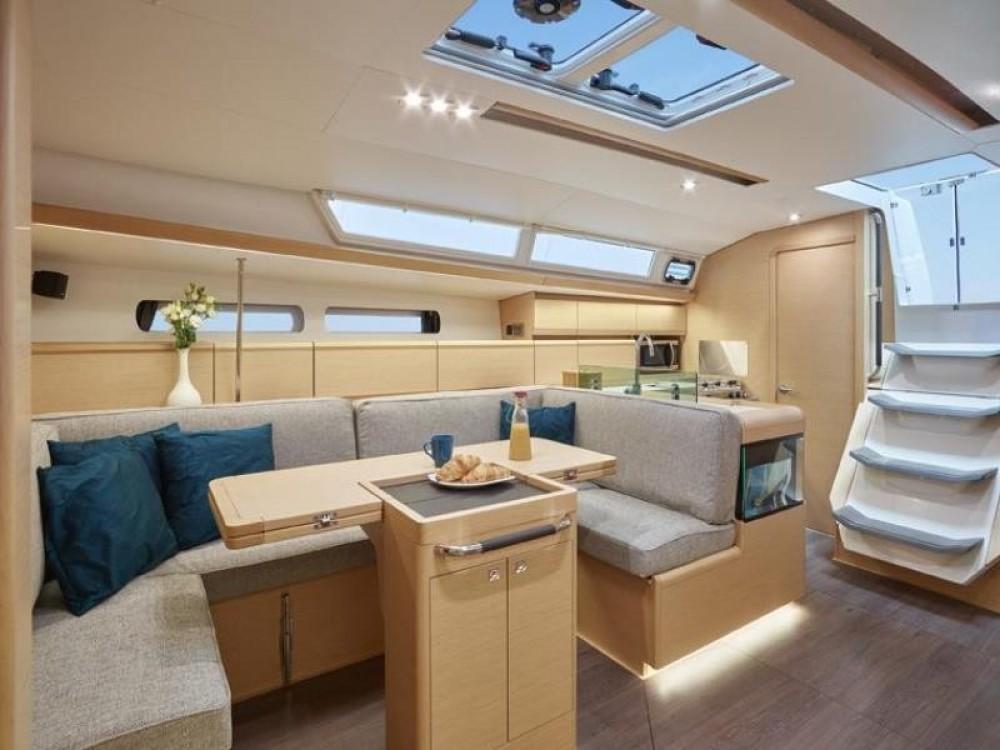 Boat rental Rhodes cheap Sun Odyssey 449