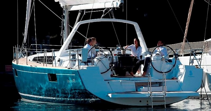 Boat rental Corfu cheap Oceanis 48
