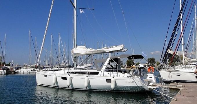 Rental yacht Corfu - Bénéteau Oceanis 48 on SamBoat