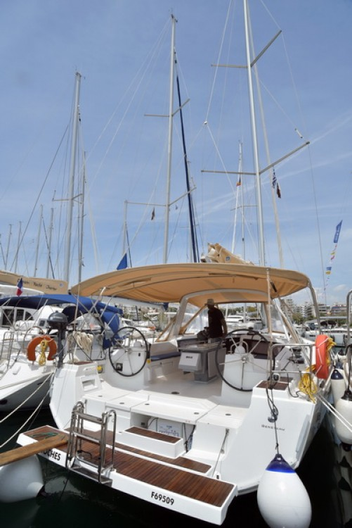 Boat rental Peloponnese, West Greece and Ionian Sea cheap Oceanis 48
