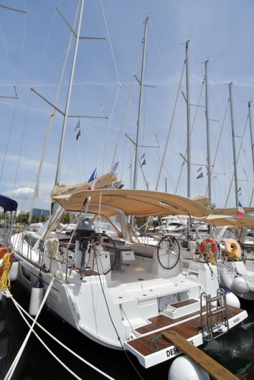 Boat rental Peloponnese, Western Greece and the Ionian cheap Oceanis 48