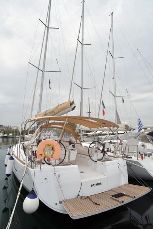 Boat rental Athens cheap Sun Odyssey 449