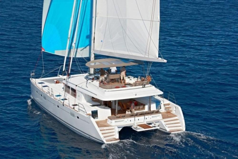 Boat rental Martinique cheap Lagoon 560