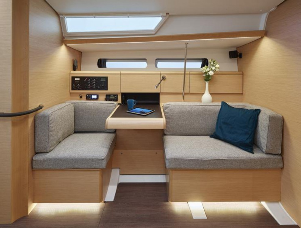 Jeanneau Sun Odyssey 449 between personal and professional Corfu