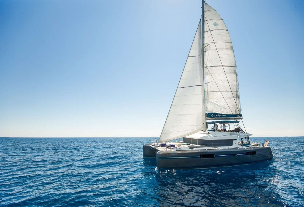 Boat rental Athens cheap Lagoon 52