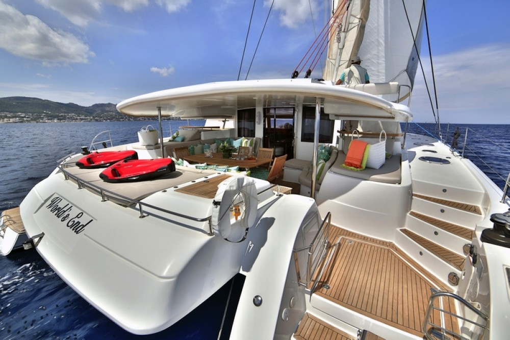 Rent a Fountaine Pajot Galathea 65 Athens