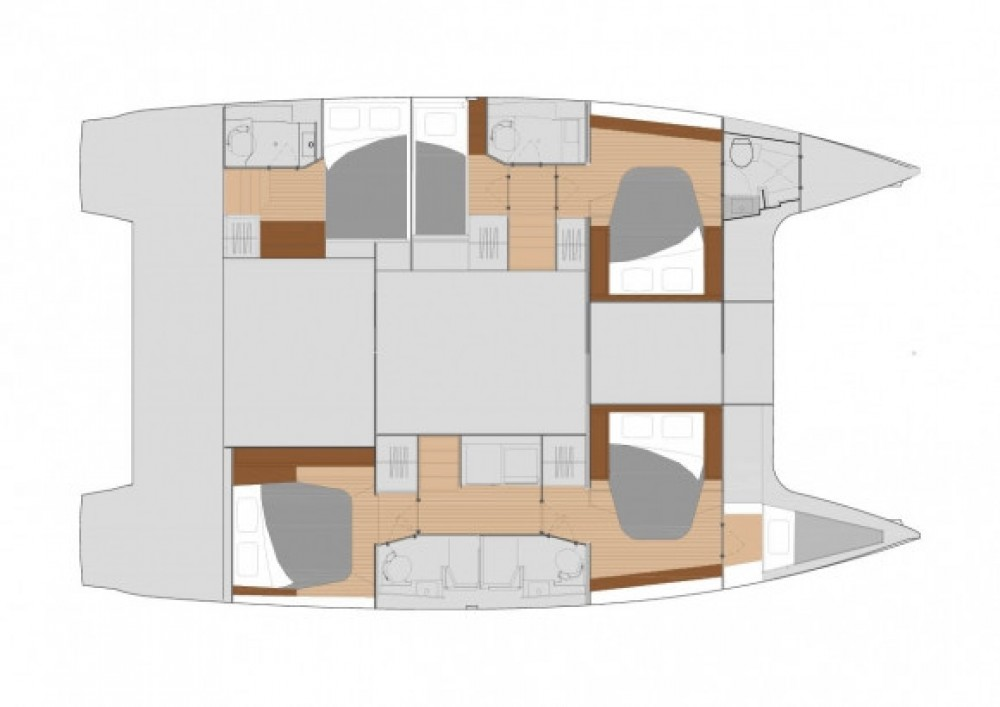 Fountaine Pajot Saona 47 between personal and professional Seychelles