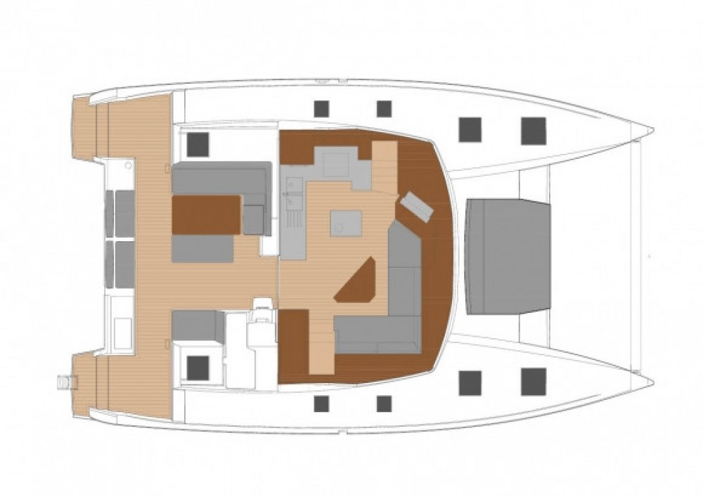 Catamaran for rent Seychelles at the best price