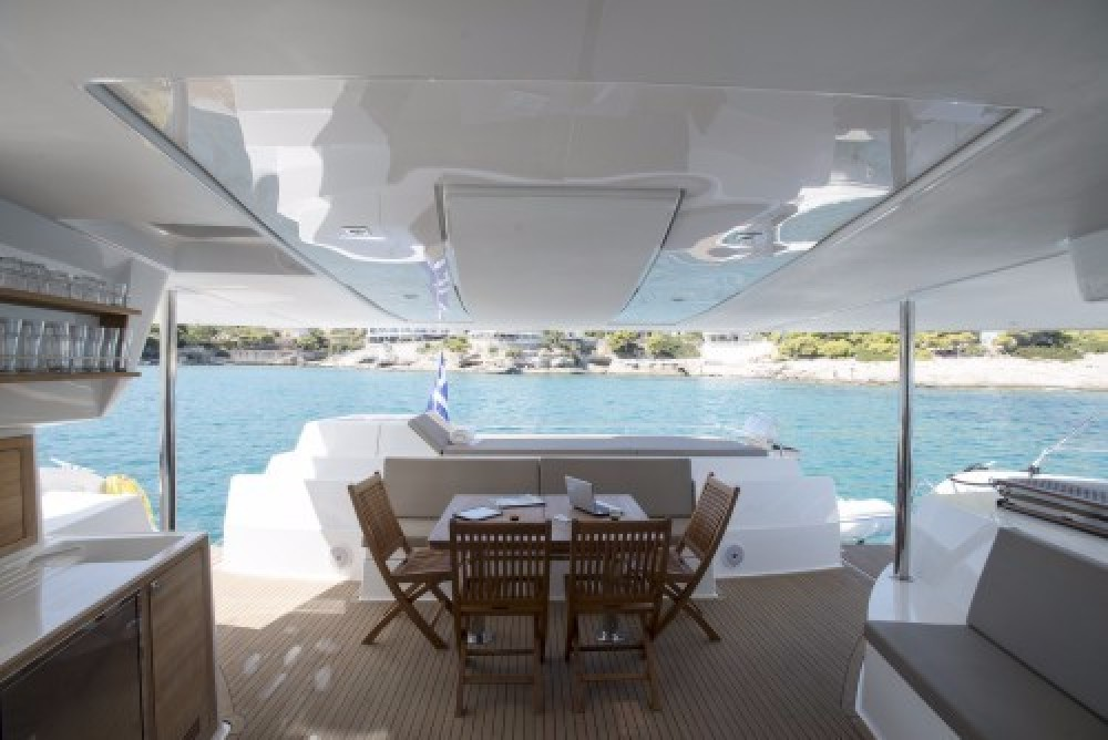 Rental yacht Athens - Fountaine Pajot Sanya 57 on SamBoat