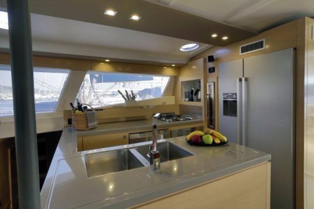 Rental Catamaran in Athens - Fountaine Pajot Sanya 57