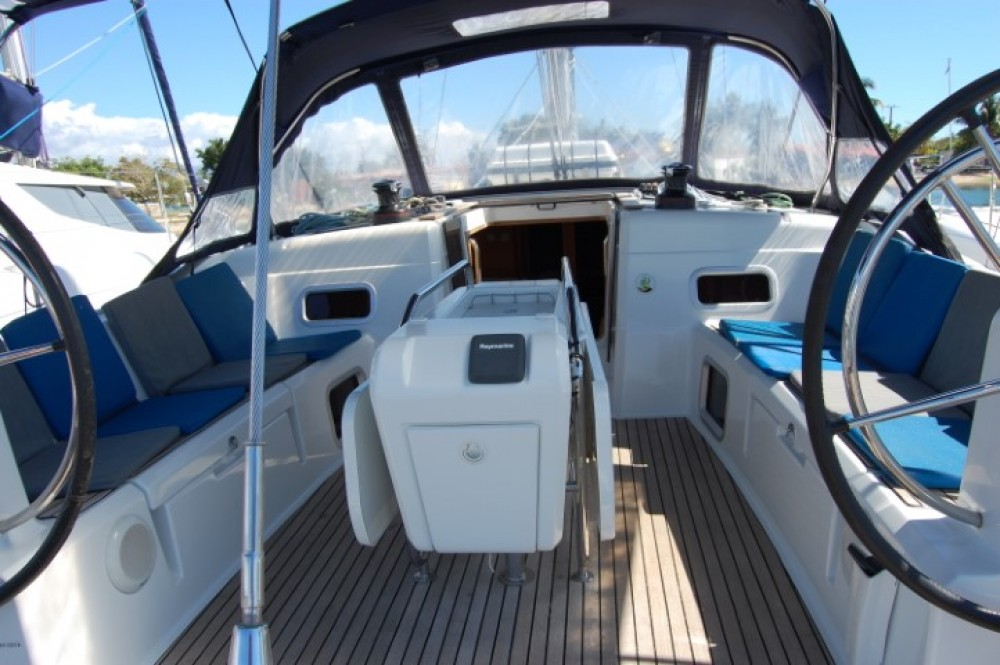 Jeanneau Sun Odyssey 519 between personal and professional Palma