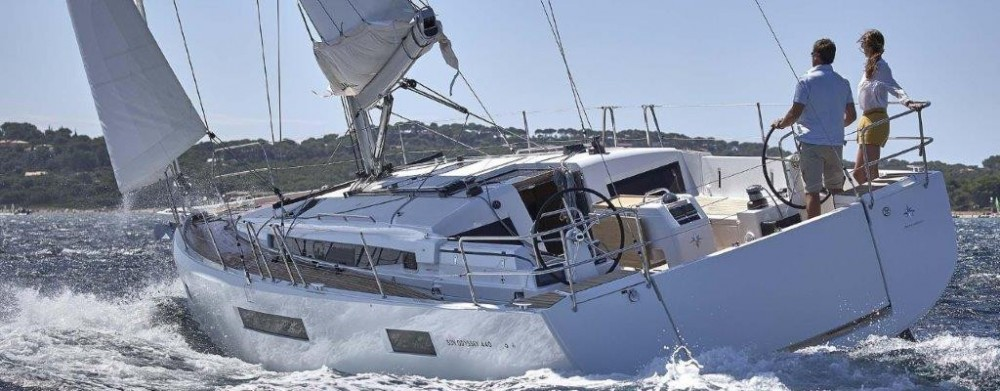 Jeanneau Sun Odyssey 44 between personal and professional Road Town