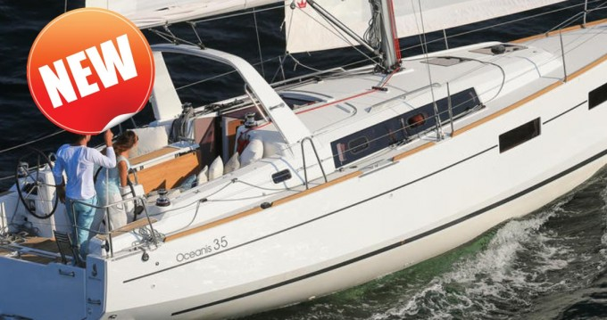 Bénéteau Oceanis 350 between personal and professional Tortola