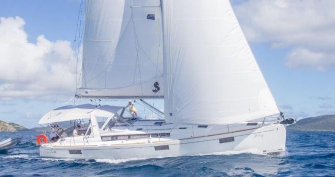 Boat rental Tortola cheap Oceanis 48