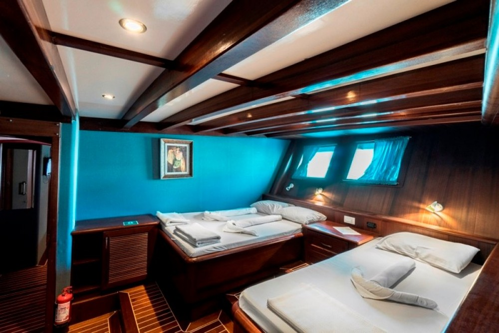 custom built YACHT Gulet between personal and professional Muğla