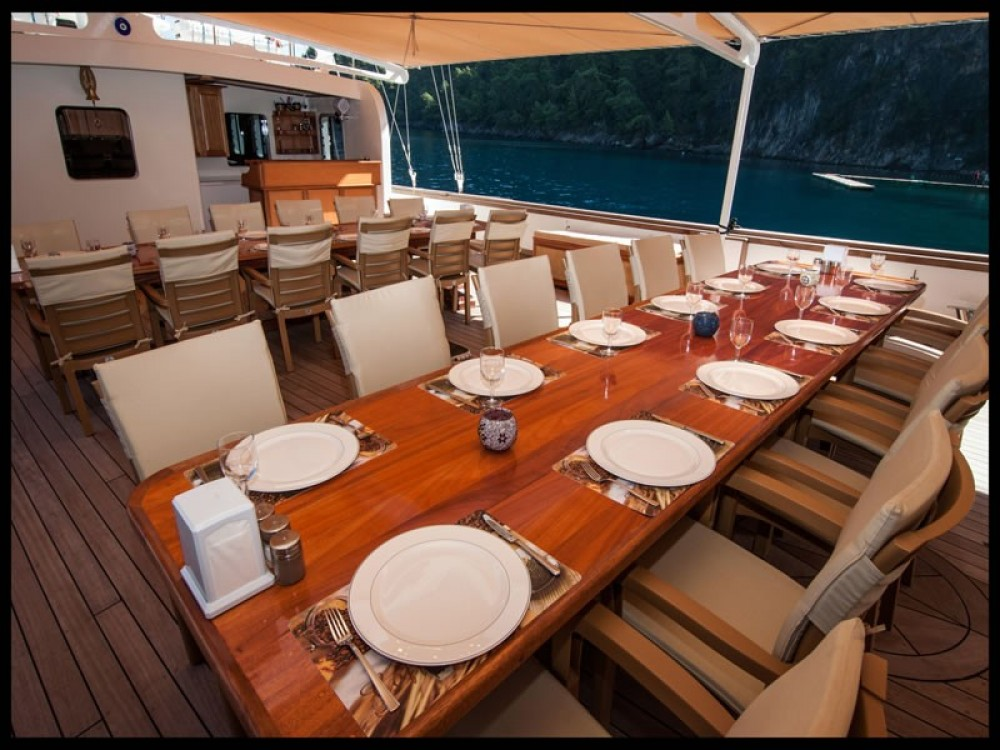 Hire Sailboat with or without skipper Custom Built Muğla