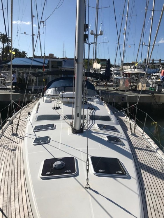 Rental Sailboat in Tejeda - Bénéteau Oceanis 473