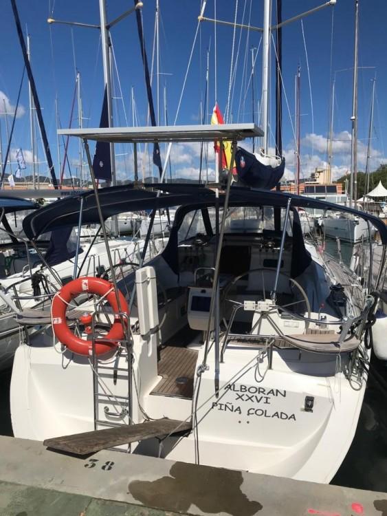 Boat rental Canary Islands cheap Elan 434 Impression