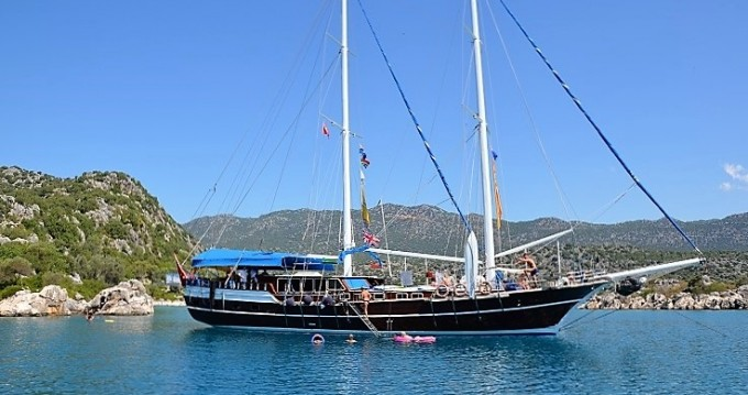 Boat rental Custom Built Gulet in Rhodes on Samboat