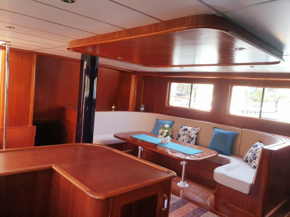 Hire Sailboat with or without skipper custom built gulet Muğla