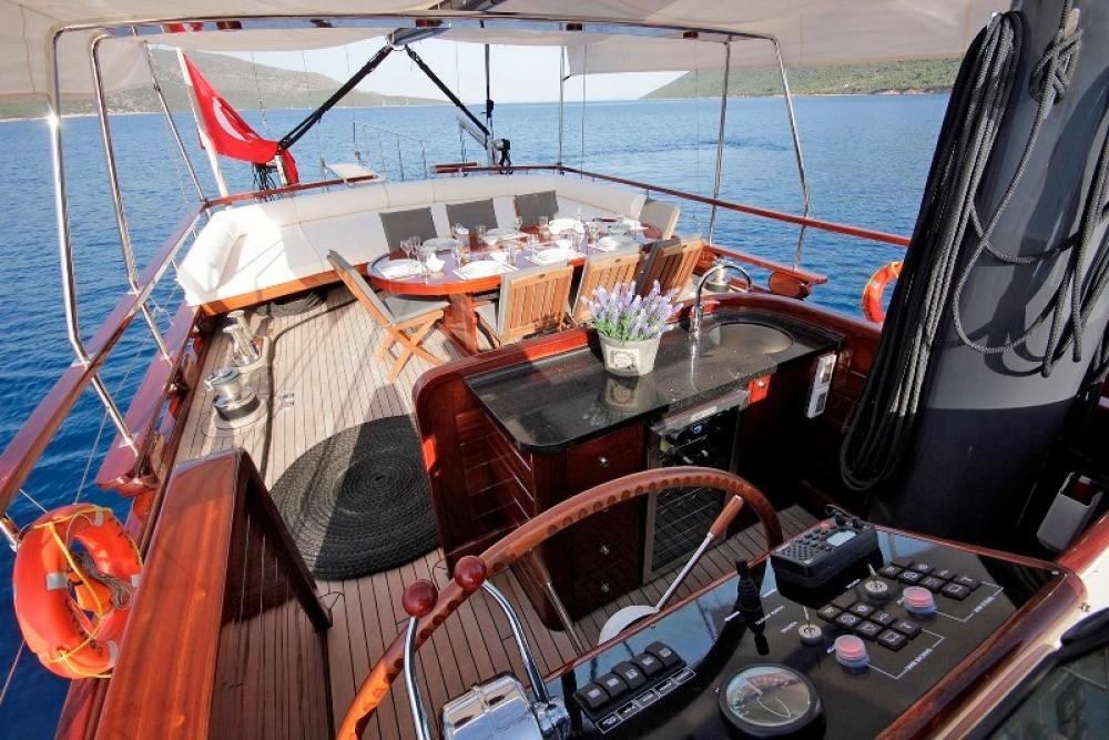 Rental Sailboat in  - Gulet Custom Built Gulet