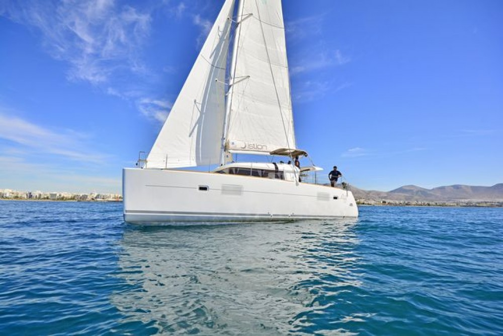 Hire Catamaran with or without skipper Lagoon Catamaran Athens