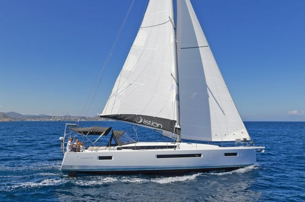 Jeanneau Sun Odyssey 490 between personal and professional Corfu