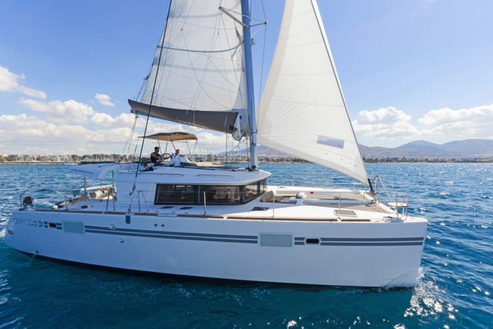 Catamaran for rent Rhodes at the best price
