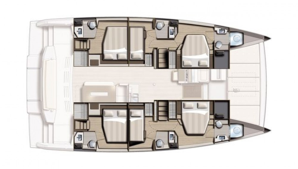 Catamaran for rent Corfu at the best price