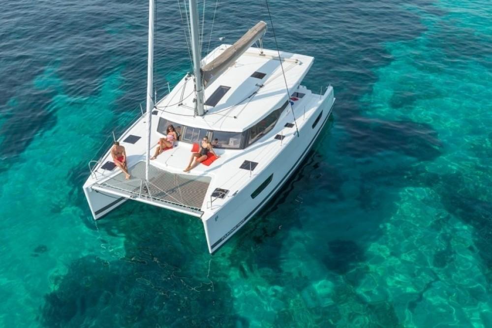 Rental yacht Tourlos - Fountaine Pajot Lucia 40 on SamBoat