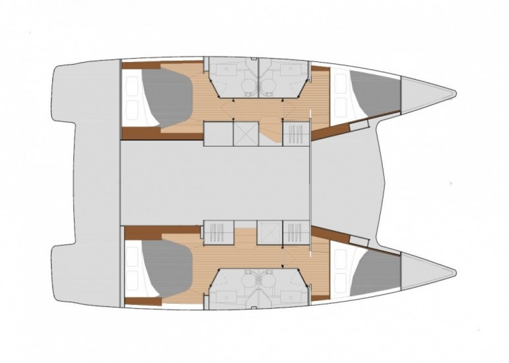 Boat rental Fountaine Pajot Lucia 40 in Tourlos on Samboat