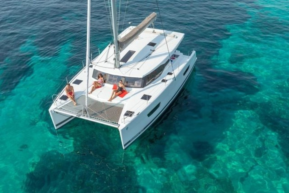 Boat rental Aegean cheap Lucia 40