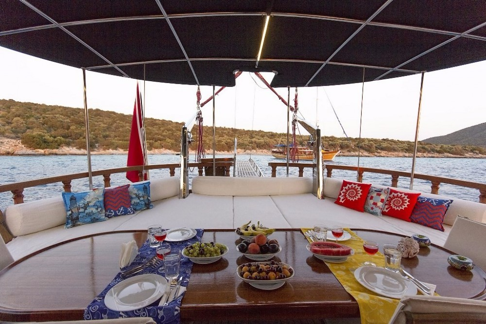 Boat rental Custom Built Gulet in Aegean Region on Samboat