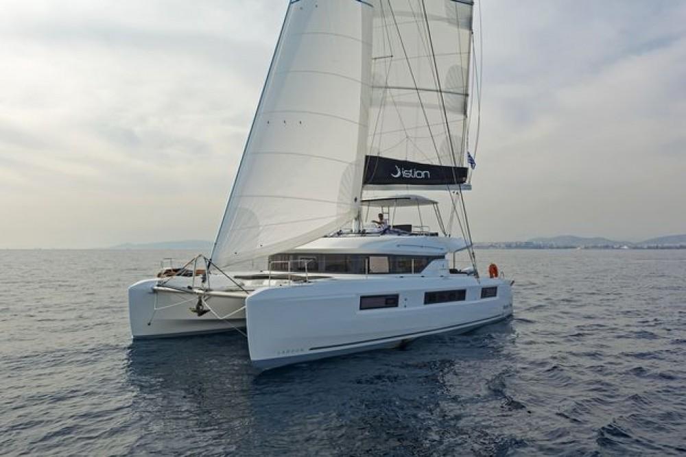 Rental Catamaran in Peloponnese, Western Greece and the Ionian -  Lagoon 50