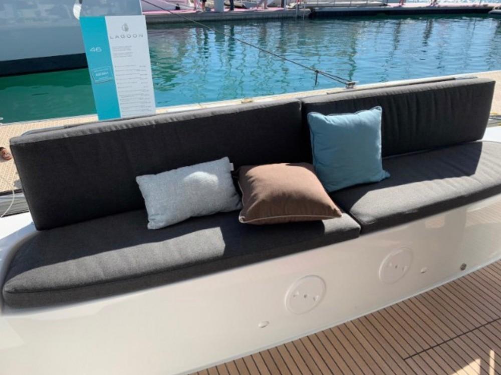 Rental Catamaran in Sardinia -  Lagoon 46